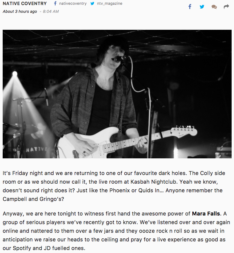 Native Magazine - Kasbah show review