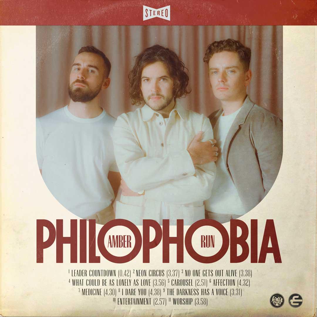 Amber Run - Philophobia cover