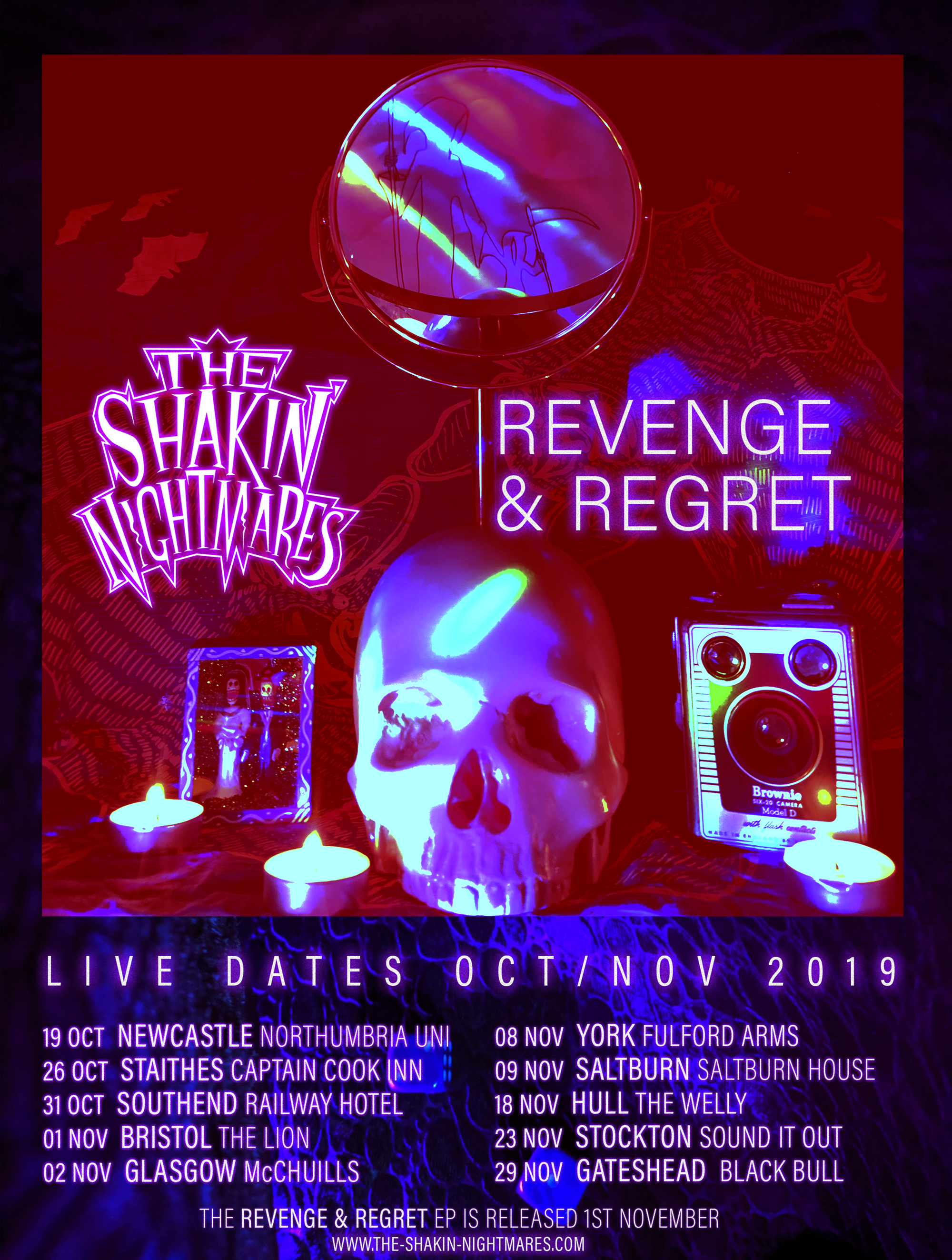 Revenge & Regret Tour 2019