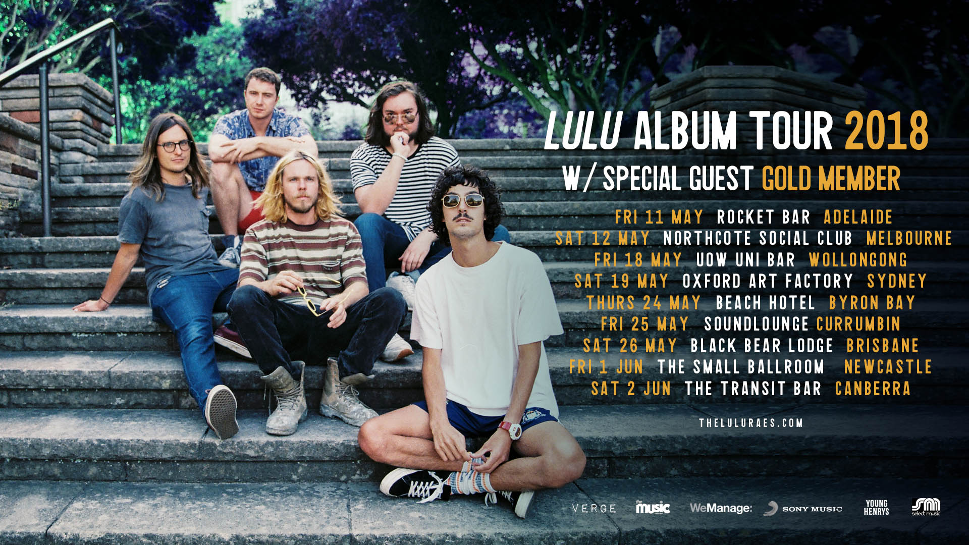 LULU 2018 Album Tour