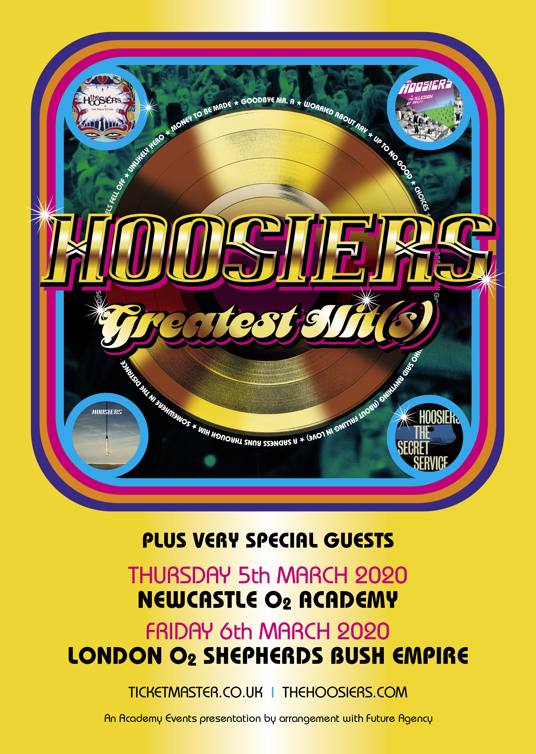 Hoosiers Greatest Hits Live