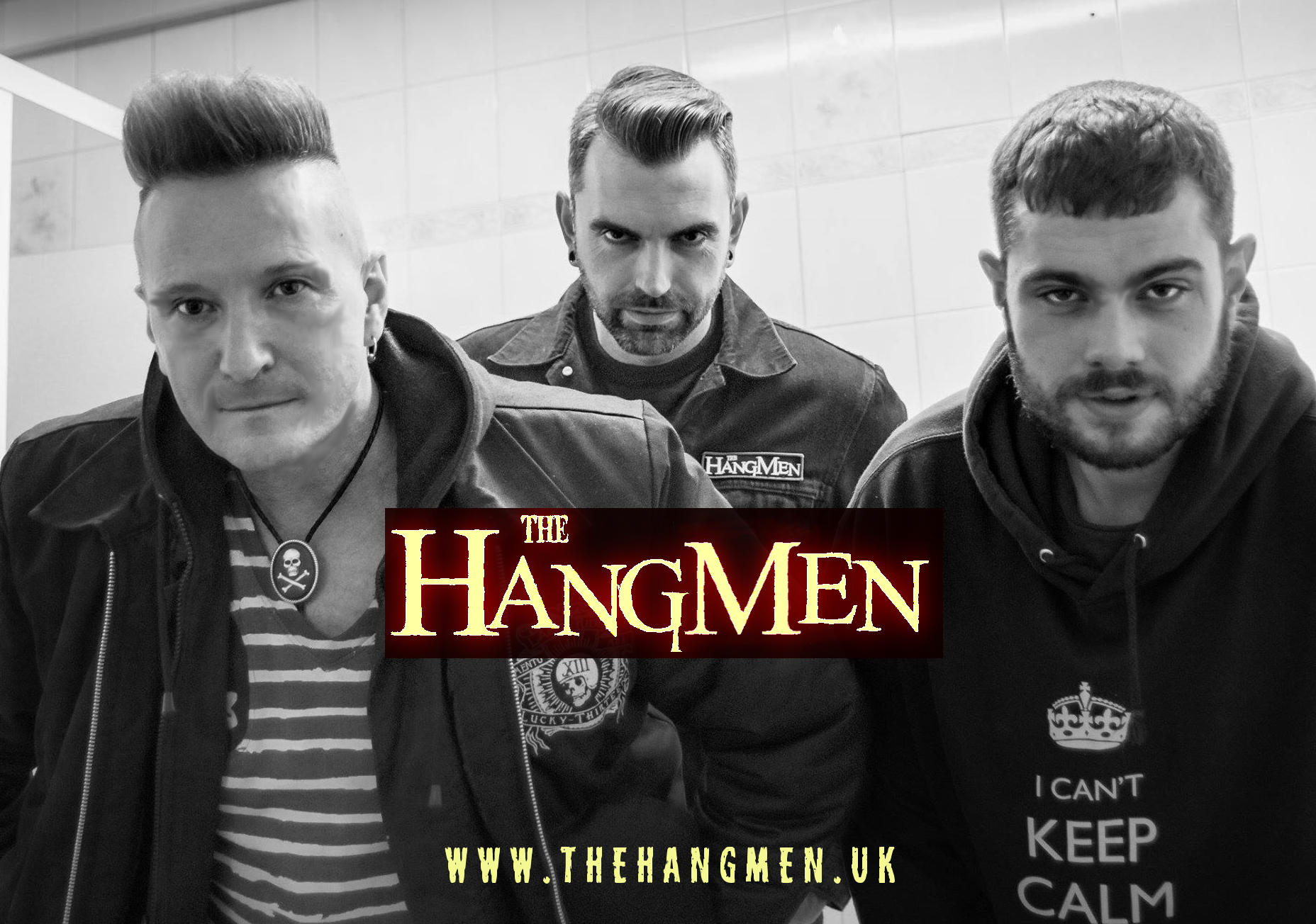 The Hangmen band promo shot