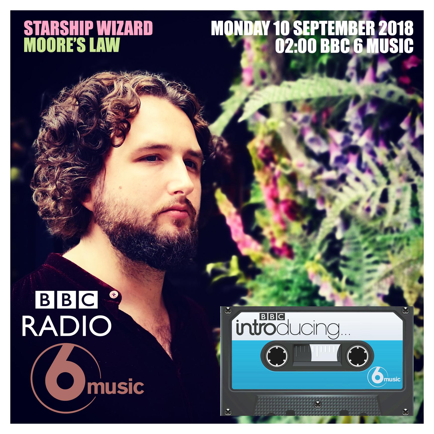 Starship Wizard BBC 6 MUSIC