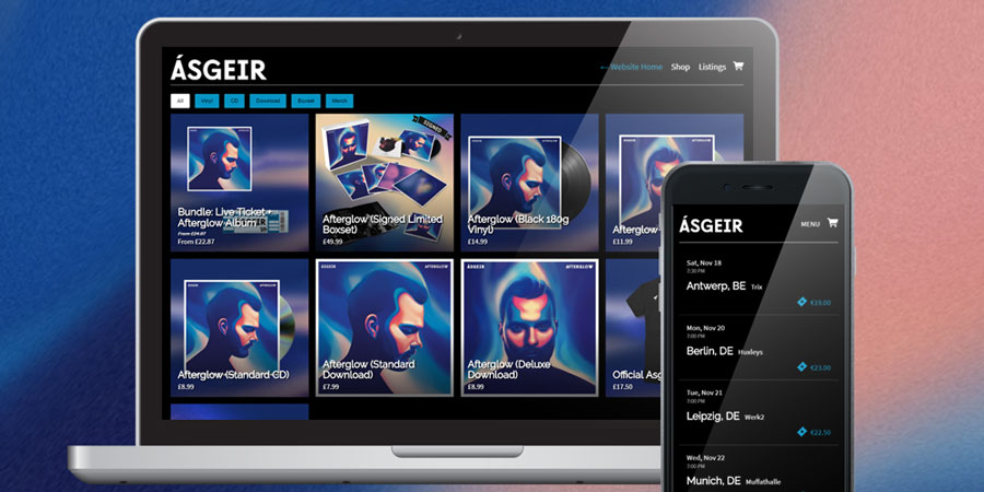 Asgeir's official store on Music Glue