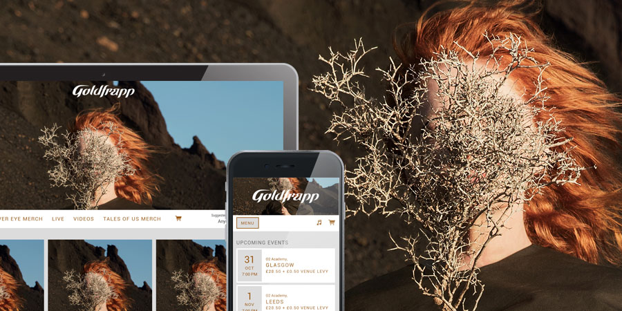 Goldfrapp's official store on Music Glue