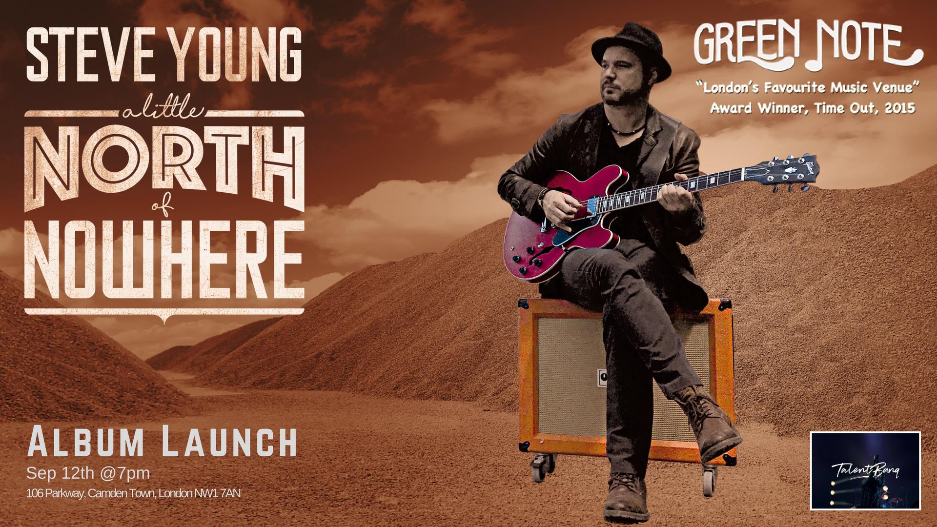 Steve Young Album Launch Party