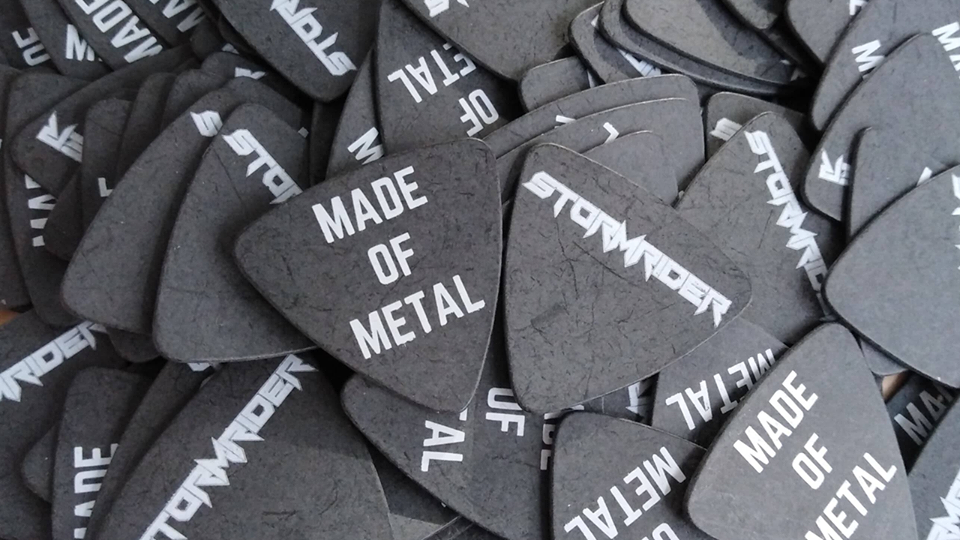 Made of Metal Plectrums