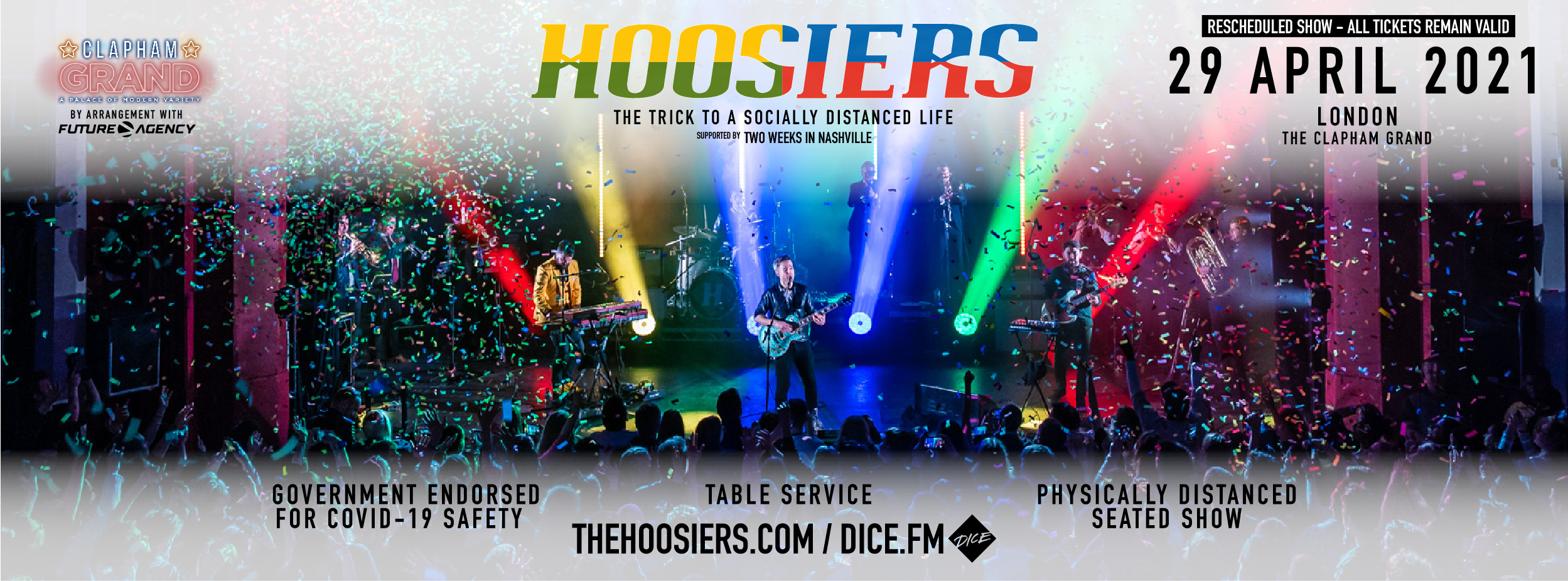 The Hoosiers Live April 2021