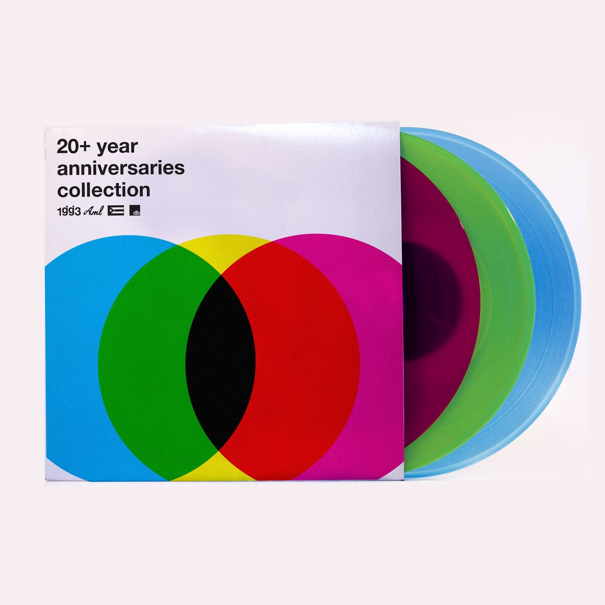 GLASSJAW '20+ ANNIVERSARIES VINYL COLLECTION' LIMITED-EDITION COLORED TRIFOLD 3LP